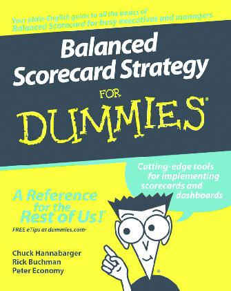Balanced Scorecard For Dummies Pdf
