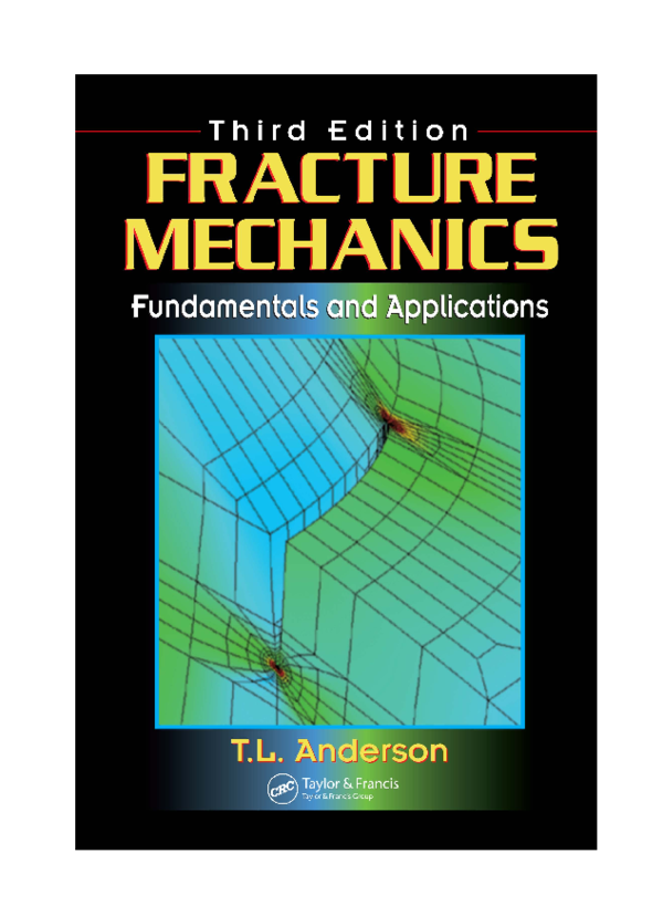 fracture mechanics fundamentals and applications anderson pdf free download