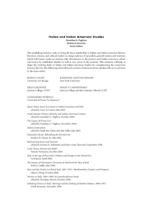 8686cbd9d1b8 PDF) De-provincializing Italy. Notes on Race