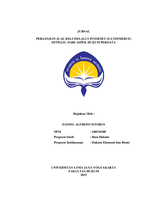 (PDF) jurnal e-commerce.pdf | siti aminatut - Academia.edu