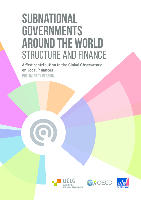 PDF) Subnational governments around the world Structure and finance