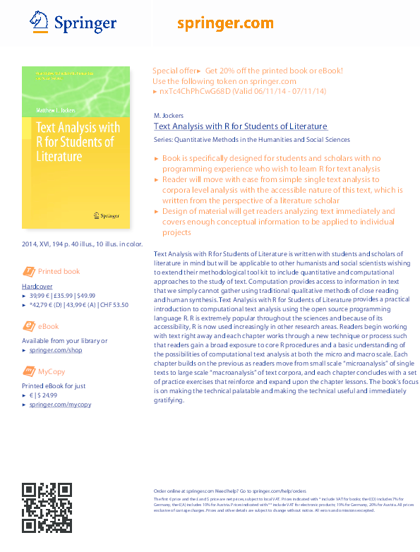 Pdf Mycopy Text Analysis With R For Students Of Literature Jayaprakash Nallathambi Academia Edu