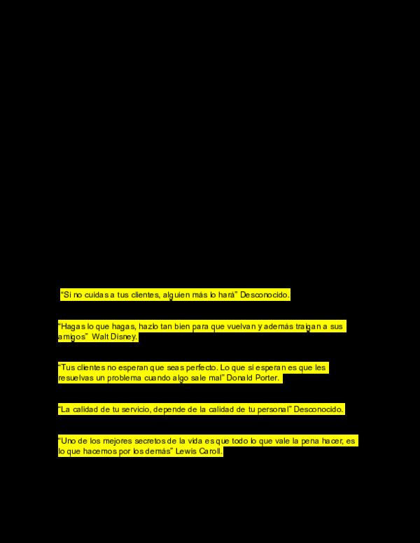 Doc Analisis De La Importancia Del Servicio Al Cliente En