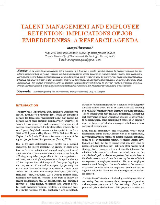 Talent Management Handbook Pdf
