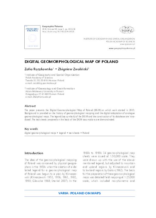Klimaszewski pdf geomorfologia