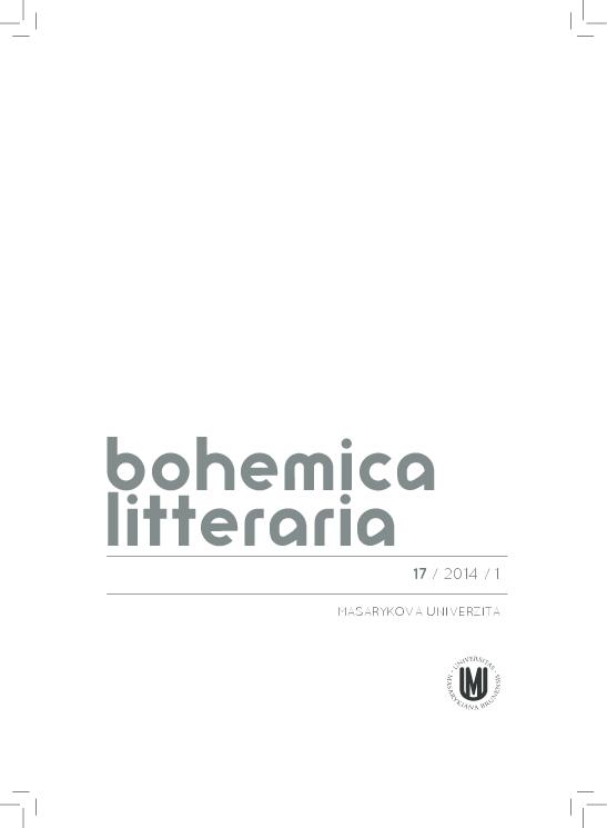 a39a0ef82c4 Monotematické číslo časopisu Bohemica litteraria k českému ...