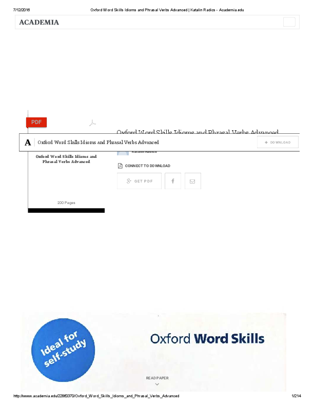 Word advanced pdf skills oxford