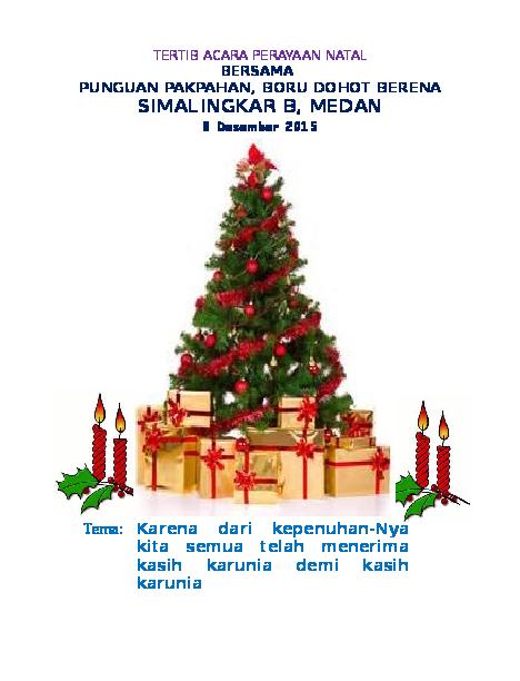 30+ Ide Keren Contoh Tema Natal Pemuda - Fatiha Decor