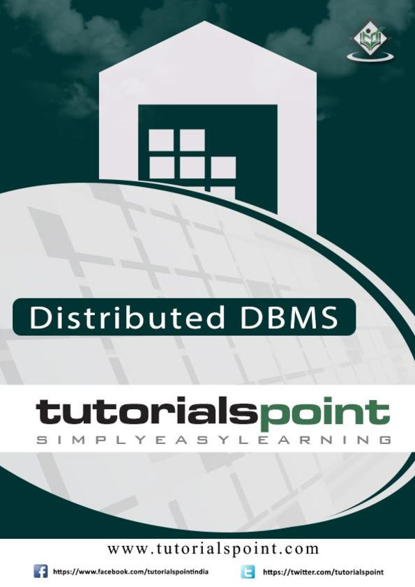 Pdf Distributed Dbms Tutorial Nilesh Shambharkar Academia Edu