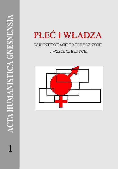 Pdf Płeć I Władza W Kontekstach Historycznych I