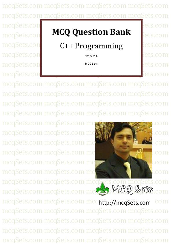 PDF) MCQ Question Bank C++ Programming | Bhavin Parmar - Academia edu