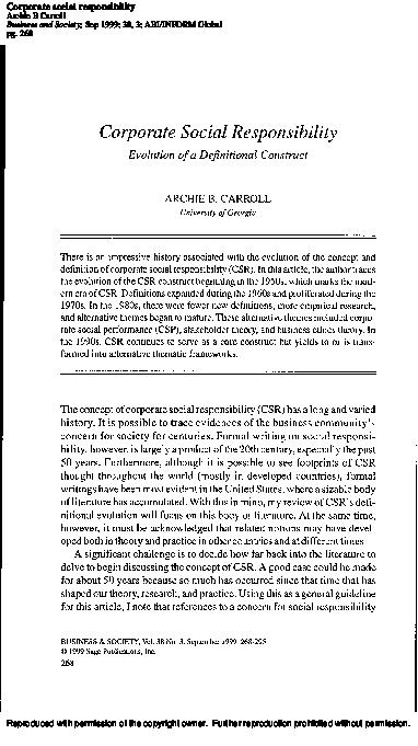 carrolls csr pyramid