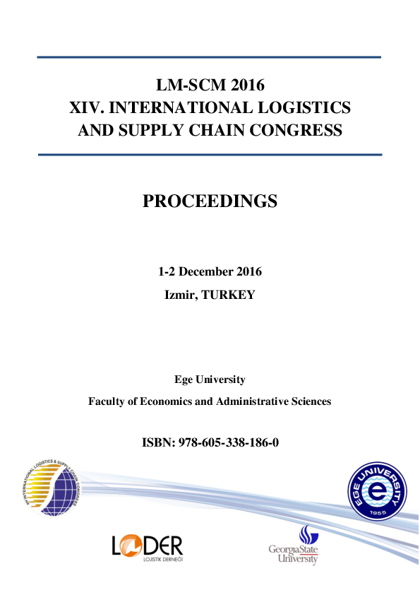 PDF) XIV  INTERNATIONAL LOGISTICS AND SUPPLY CHAIN CONGRESS