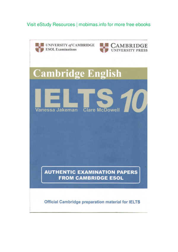 PDF) UNIVERSITY ^/CAMBRIDGE Cambridge English Official