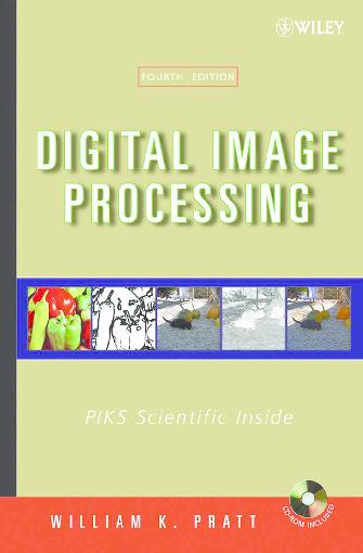 PDF) Digital Image Processing 4th Edition - William K Pratt