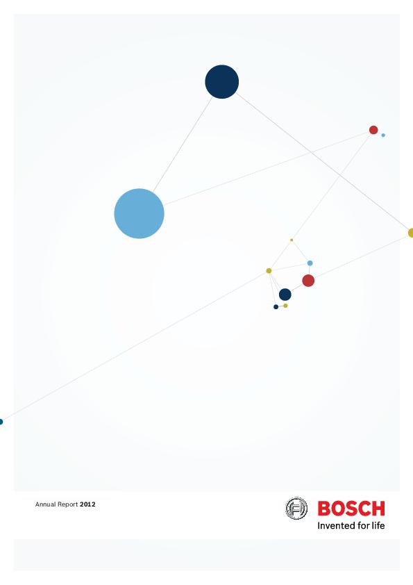 PDF) Bosch Annual Report 2012 | 志强 邵 - Academia edu