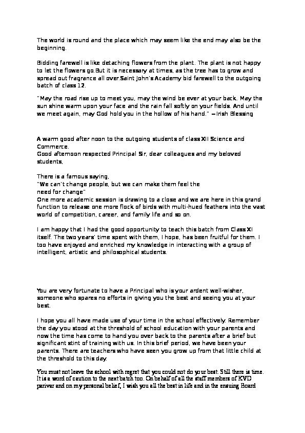 DOC) Anchoring Script | sukanya 1 - Academia edu