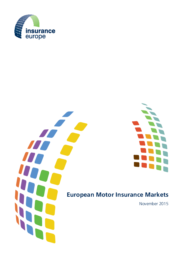 PDF) European Motor Insurance Markets | Luan Isufi