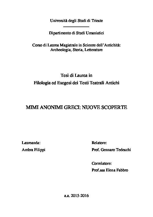 datazione armorous