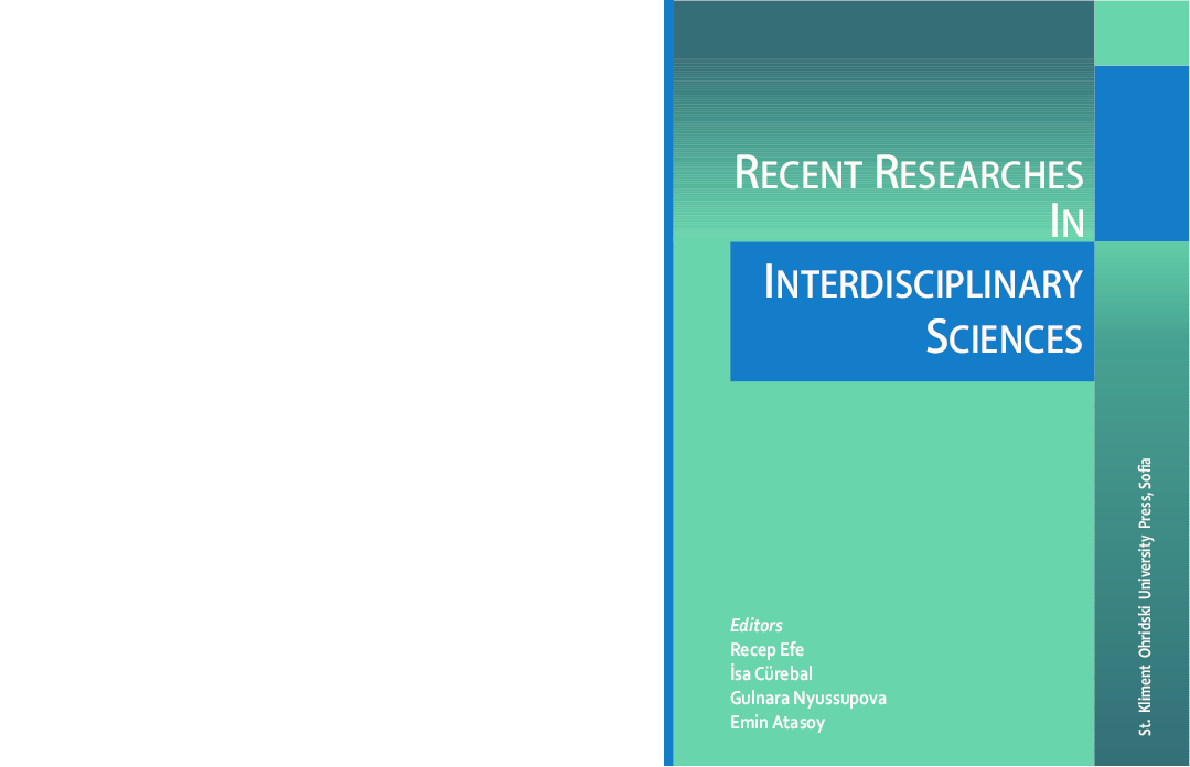 Pdf Recent Researches In Interdisciplinary Sciences Recep Efe