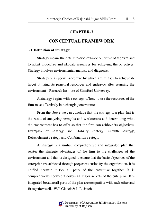 DOC) CHAPTER-3 CONCEPTUAL FRAMEWORK 3 1 Definition of