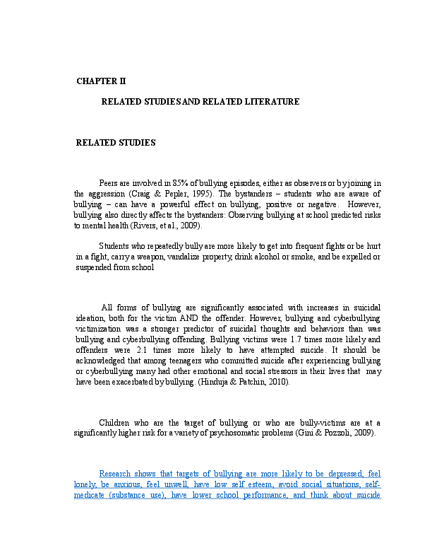 thesis about cyber bullying in the philippines