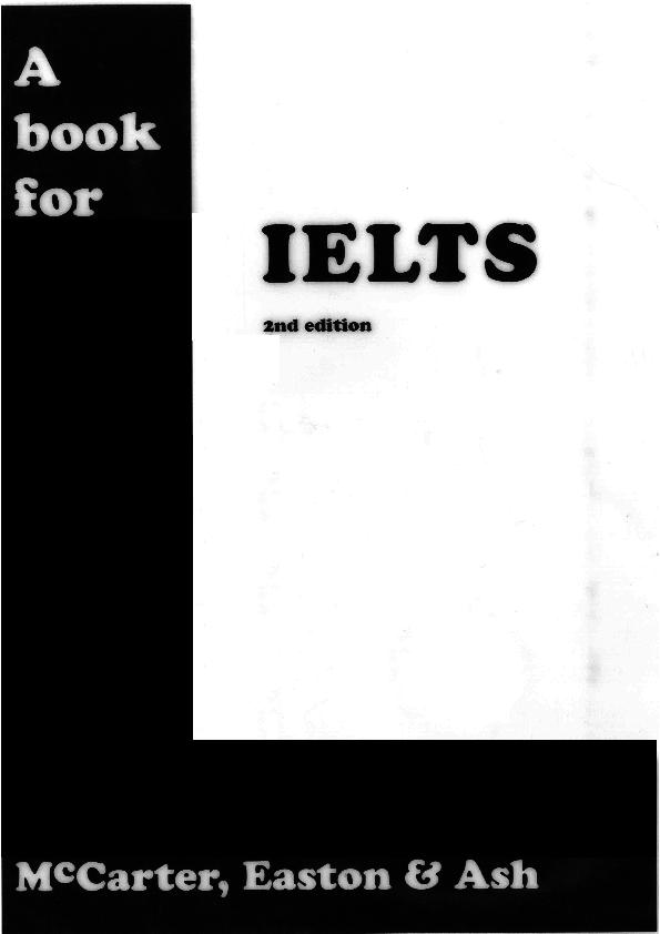 PDF) A Book for IELTS | elizabeth tryczynski - Academia edu