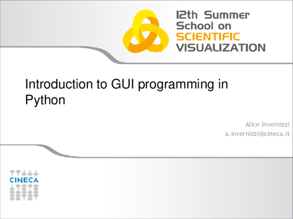 PDF) Introduction to GUI programming in Python | Bollepalli