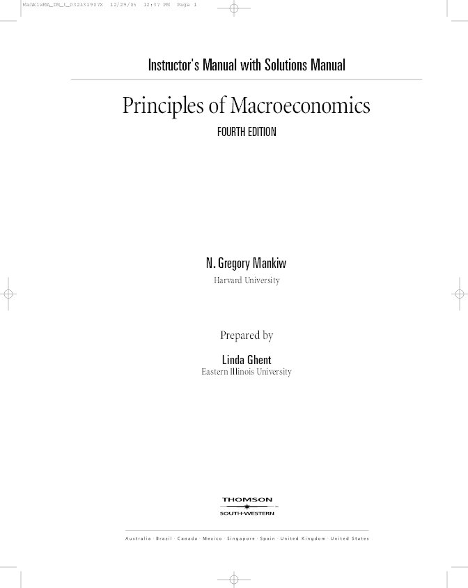 Principles Of Macroeconomics 6th Canadian Edition Pdf