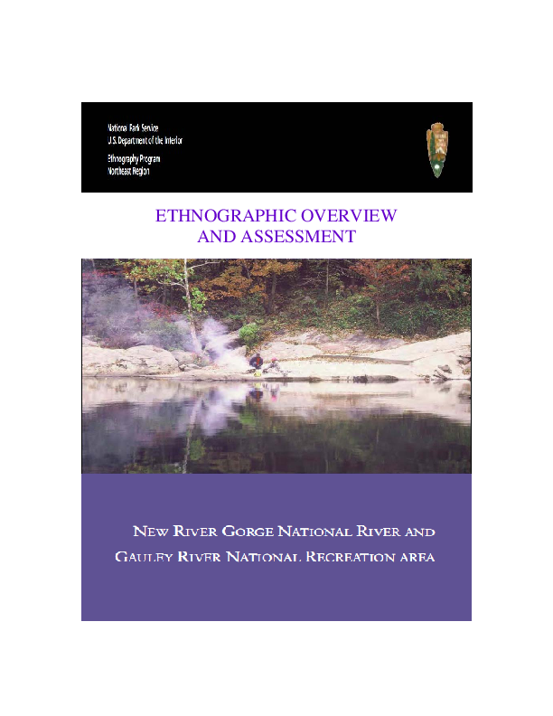 PDF) New River Gorge National River and Gauley River National