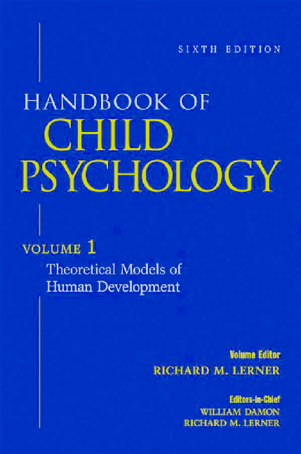 PDF) handbook of child psychology vol1 Theoretical Models of