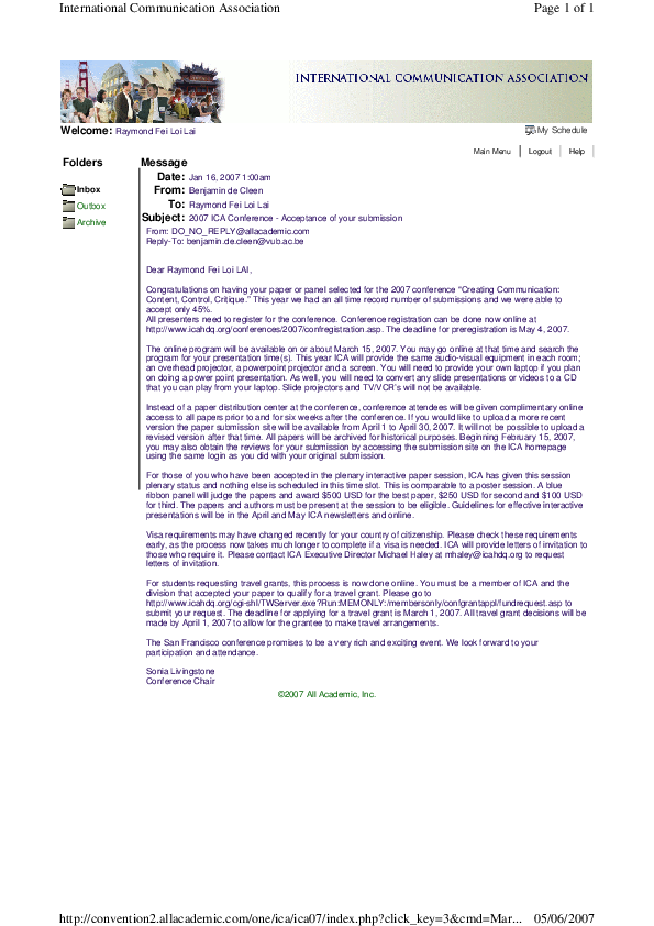 PDF) Personal Technology to 'We'Technology: A Critique to