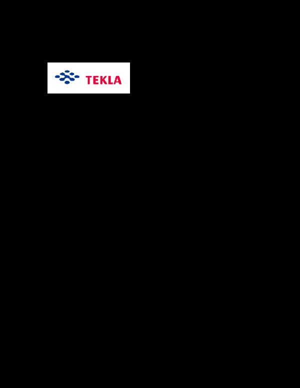 PDF) Tekla Structures 12 Release Notes   Mujahidin Bunru