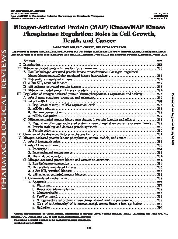 PDF) Min-activated protein (MAP) kinase/MAP kinase ... on