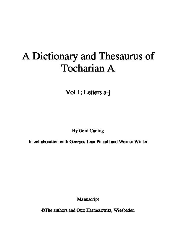 black magic thesaurus
