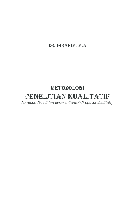 Pdf Metodologi Penelitian Kualitatif Rara Koceng Academia Edu