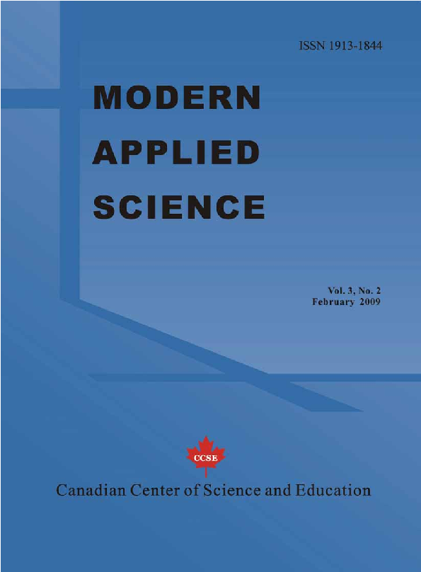 PDF) Modern Applied Science, Vol  3, No  2, February 2009, All In