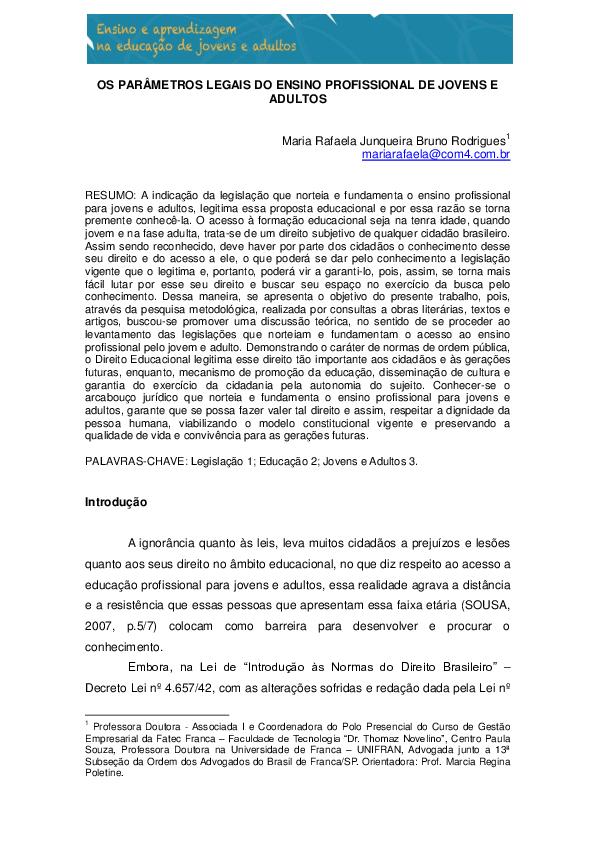 PDF) ARTIGO - EJA.pdf   Maria Rafaela Junqueira Bruno Rodrigues ...
