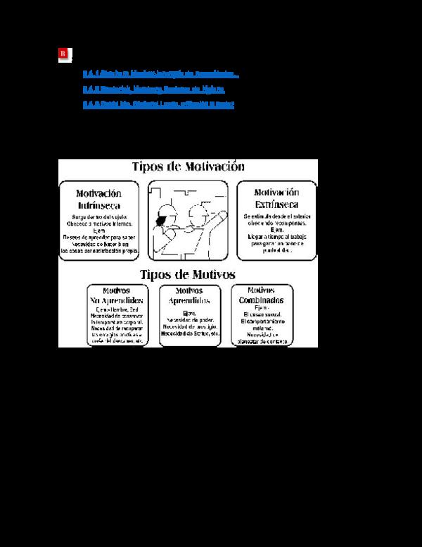 Doc Teorias Motivacionales Pedro Arteaga Academia Edu