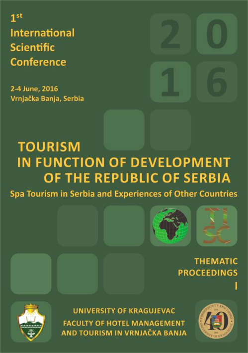 PDF) thematic-proceedings-i.Tourism in function of development of ...