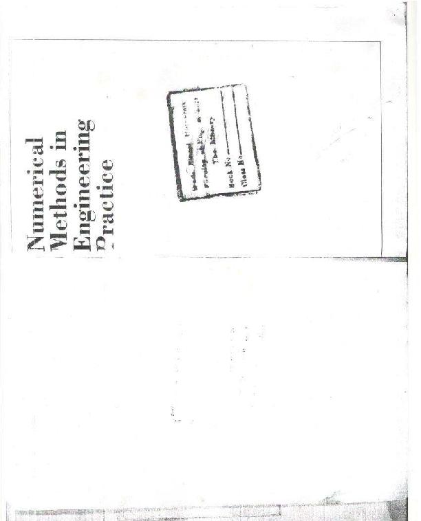 (PDF) numerical methods in engineering practice by amir