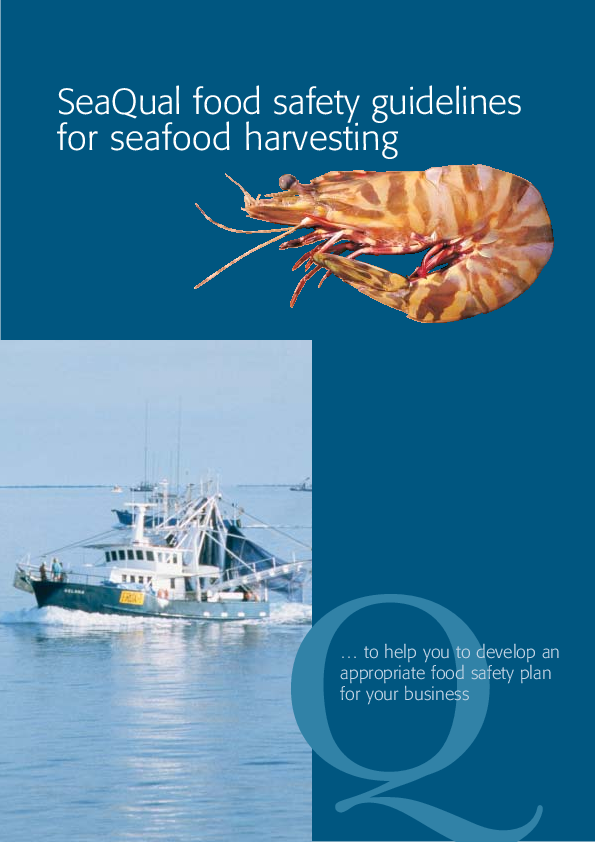 PDF) SeaQual food safety guidelines for seafood harvesting | Jay
