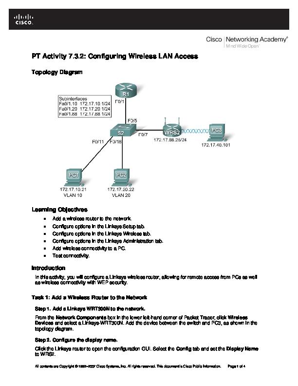 Cisco Wireless Lan Security Pdf