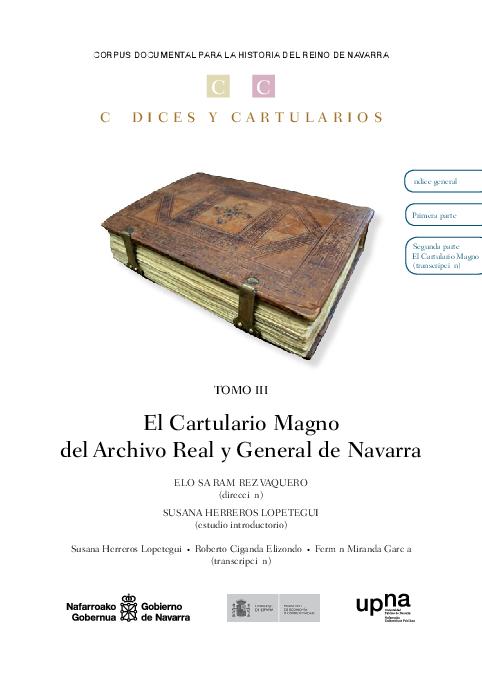 archivo general de navarra 1349 1381 i e 1387 fuentes documentales medievales del pais vasco