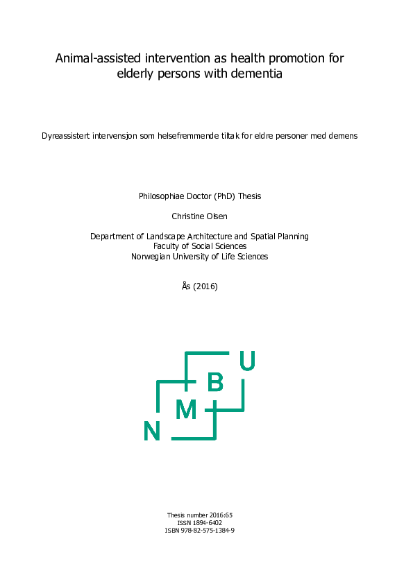 Phd thesis in animal science