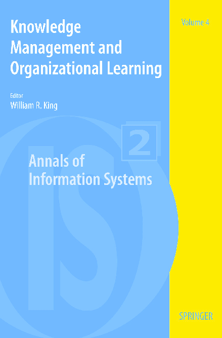PDF) Knowledge managment and organizational learning book from net