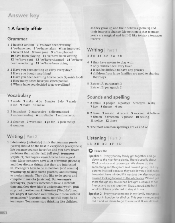 Pdf Complete First 2015 Answer Key For The Workbook Katy Ivanova Academia Edu