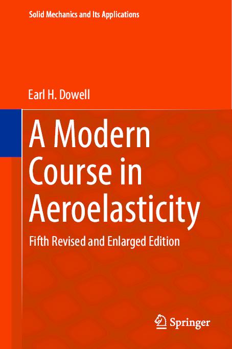 Pdf A Modern Course In Aeroelasticity Gonzalo Anzaldo Muñoz Academia Edu