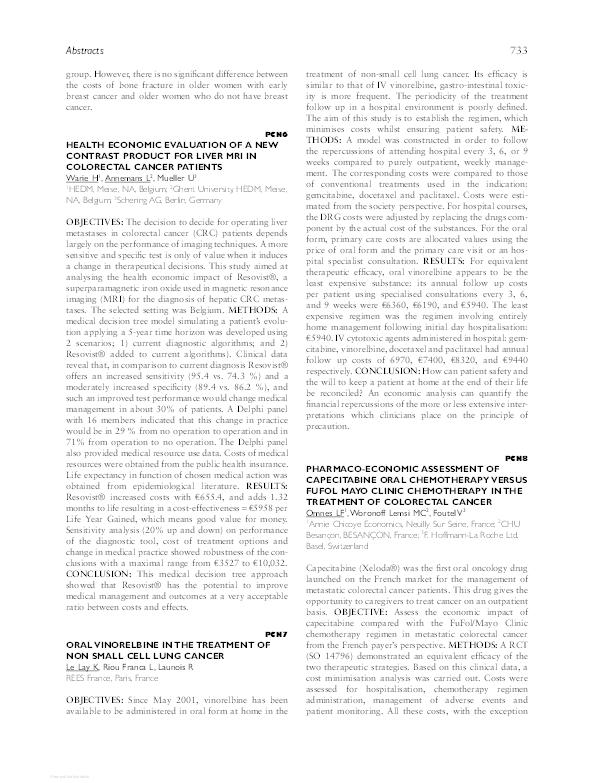 PDF) PCN6 Health Economic Evaluation of a New Contrast