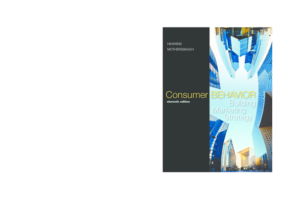 Building Marketing Strategy Consumer BEHAVIOR eleventh edition ... 43c325e1e8b8
